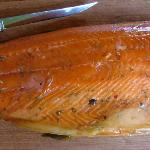 Hot Smoked Salmon Fillet
