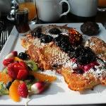 blueberry pancakes, to die for!