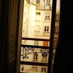 A janela do quarto