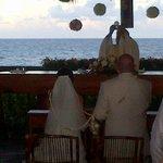 Boda religiosa frente al mar ¡¡¡