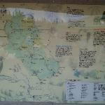 Mapa parque Arvi