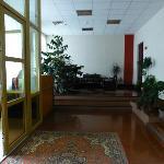 Lobby area - inside front door.