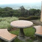 Area del jardín con espectacular vista