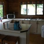 kitchen in 3 bdrm villa