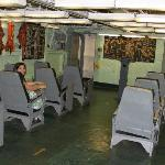 Inside the aircraft carrier