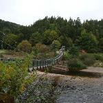 suspeneded bridge