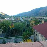 Hotel Colorado 5th floor view of Glenwood Springs