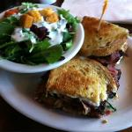 Pastrami Sand (special of the day), w/salad... damn good!
