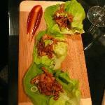 Bossam au pulled pork (entrée)