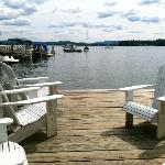 Wolfeboro Inn private dock