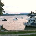 View from Wolfeboro Inn beach