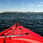 Kayaking on Lake Winnipesaukee