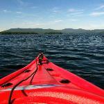 Kayaking on Lake Winnipesaukee