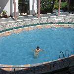 A View of swimming pool in Resort