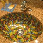 Pretty bathroom sink