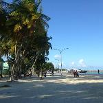 Jetty area at Maafushi