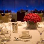 Sit down setup for Regency Ballroom