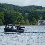 Boat over to Inchmahome Priory