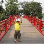 Near Hoan Kiem lake