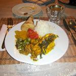 Curry fish for dinner