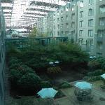 L'albergo e uno spazio relax