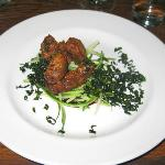 Soy marinated Pigeon breast