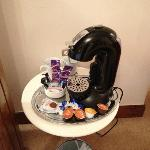 Dolce Gusto machine in room