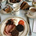 Best breakfast ever! The black pudding, haggis and mushroom in particular