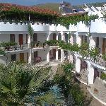 Hotel Ostansicht mit Innenhof