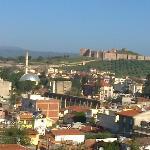 Ausblick vom Hotel zur Burg und Stadt