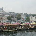 From Galata bridge to old city centre