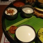 the lunch thali