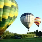 Tuscany Balloon Team takeoff
