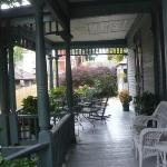 Beautiful wrap around porch