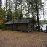 Mannerheims Sauna in Loppi