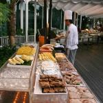 Poolside BBQ at Cocobolo