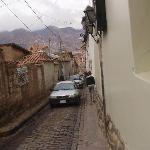 Calle de acceso
