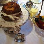 Gourmet breakfast beautifully presented!