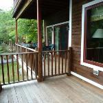 No privacy on the porch