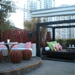 Gorgeous rooftop bar.