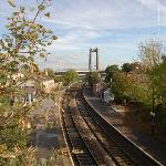 Looking east from Saltash station