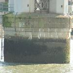 One of the caissons