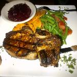 Blacken Pork Chop