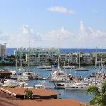 Marina toward Resort from hillside