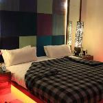 mor eof the bed