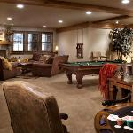 A game room the whole family will enjoy