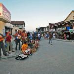 Musicians near the hostel