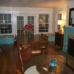 The newly remodeled Dining Room