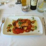 Salmon main course - €10 menu del dia