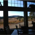 view from main lodge